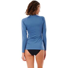 Rip Curl Golden Rays LS UV Shirt Women mid blue